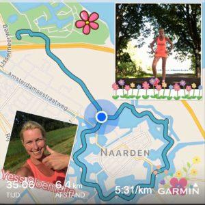 Route in Naarden